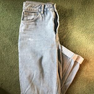 Topshop MOTO Mom Jeans Size 28